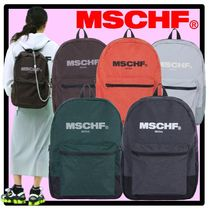 MISCHIEF Casual Style Street Style Backpacks