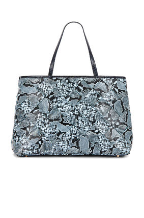Casual Style Office Style Python Elegant Style Totes