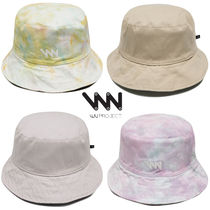 WV PROJECT Unisex Street Style Bucket Hats Keychains & Bag Charms