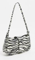 ASOS Zebra Patterns Casual Style Faux Fur Party Style