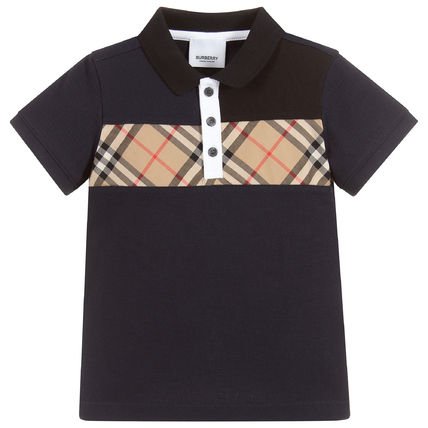 Burberry Street Style Kids Boy Tops
