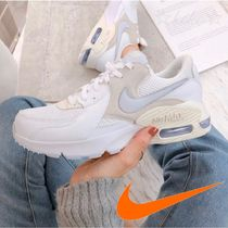 Nike AIR MAX Casual Style Street Style Leather Office Style Logo