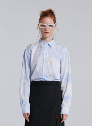 Unisex Street Style Cotton Long Party Style Office Style