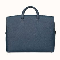 HERMES Unisex Plain Leather Business & Briefcases