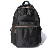 LANVIN en Bleu Casual Style Nylon Plain Backpacks