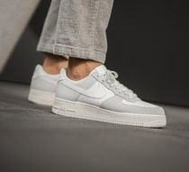 Nike AIR FORCE 1 Unisex Suede Street Style Plain Leather Sneakers