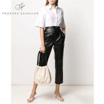 Proenza Schouler Casual Style Plain Leather Purses Office Style Elegant Style