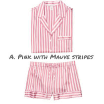 Victoria's secret Stripes Lounge & Sleepwear