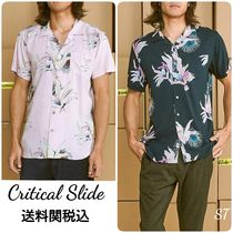 TCSS Flower Patterns Tropical Patterns Unisex Street Style