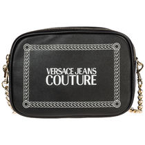 VERSACE JEANS Casual Style Street Style Plain Party Style Elegant Style