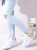 DC Shoes Casual Style Street Style Plain Logo Low-Top Sneakers