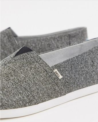 Plain Slip-On Shoes