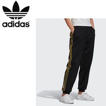 adidas Stripes Casual Style Unisex Street Style Medium Logo Bottoms