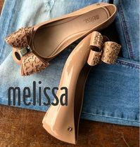 Melissa Casual Style PVC Clothing Logo Sandals