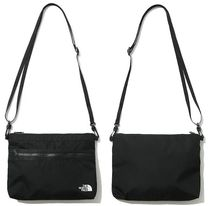 THE NORTH FACE Casual Style Unisex Street Style Plain Logo Shoulder Bags
