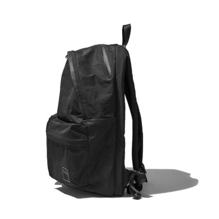 Unisex Nylon Street Style Bag in Bag A4 Plain Backpacks