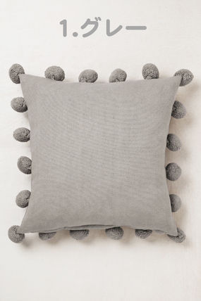 Dots Plain Decorative Pillows