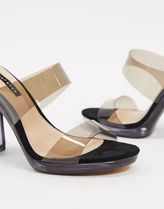 TOPSHOP Open Toe Casual Style Mules Sandals