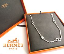 HERMES Initial Elegant Style Necklaces & Pendants
