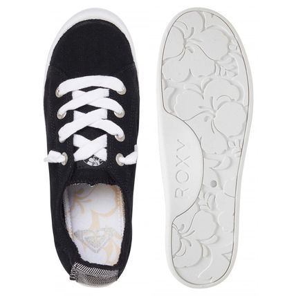 ROXY Casual Style Plain Low-Top Sneakers