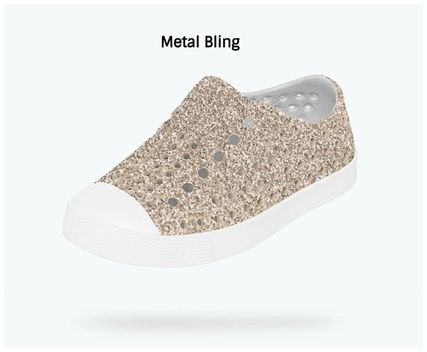 Unisex Glitter Icy Color Baby Girl Shoes