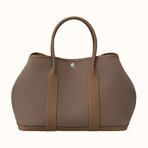HERMES Garden Party Casual Style Plain Handbags