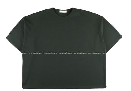 ASCLO More T-Shirts Street Style Collaboration Plain Short Sleeves T-Shirts 12