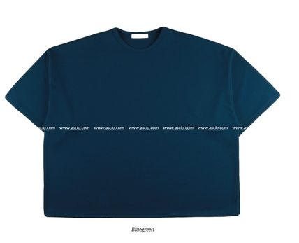 ASCLO More T-Shirts Street Style Collaboration Plain Short Sleeves T-Shirts 14
