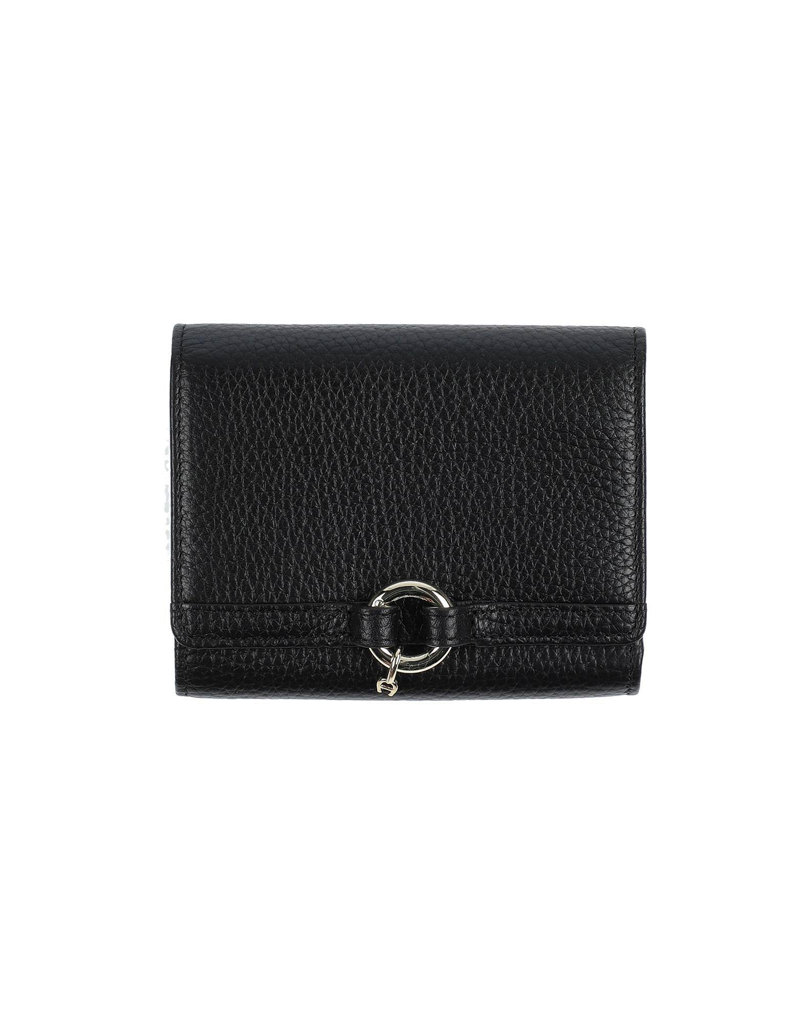 shop aigner wallets & card holders