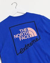THE NORTH FACE Unisex Street Style Cotton Short Sleeves Outdoor T-Shirts