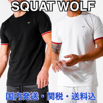 SQUAT WOLF Tops Street Style Co-ord Activewear Tops