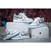 Nike AIR FORCE 1 Unisex Street Style Collaboration Plain