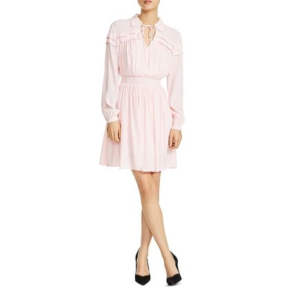 Short Flared Office Style Dresses