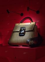 Roger Vivier Stripes Casual Style 2WAY Party Style Office Style