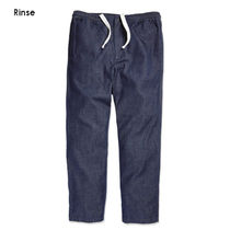 Outer known Tapered Pants Denim Street Style Plain Cotton Jeans
