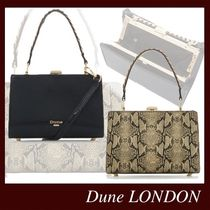 Dune LONDON Casual Style 2WAY Plain Party Style Office Style Python