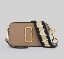 MARC JACOBS Snapshot Casual Style Blended Fabrics Street Style 2WAY Plain Leather