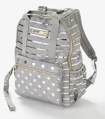 Metallic Kids Girl Bags