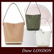 Dune LONDON Casual Style Bag in Bag 2WAY Plain Party Style Office Style