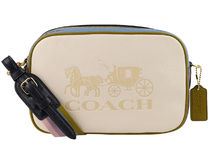 Coach Camera Bag Casual Style Unisex Plain Leather Party Style Office Style