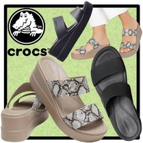CROCS Casual Style Unisex Street Style Sport Sandals Shower Shoes