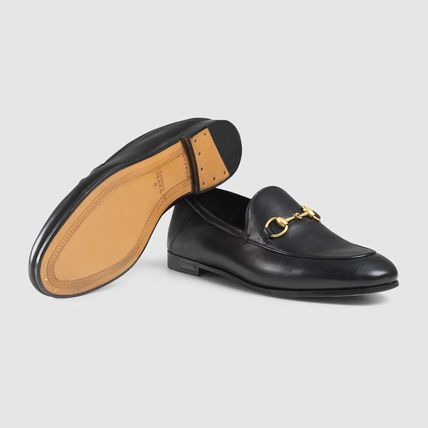 Rubber Sole Casual Style Unisex Street Style Leather