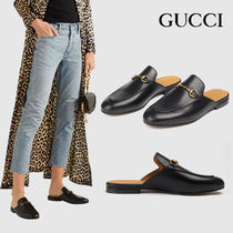 GUCCI Rubber Sole Casual Style Unisex Street Style Office Style