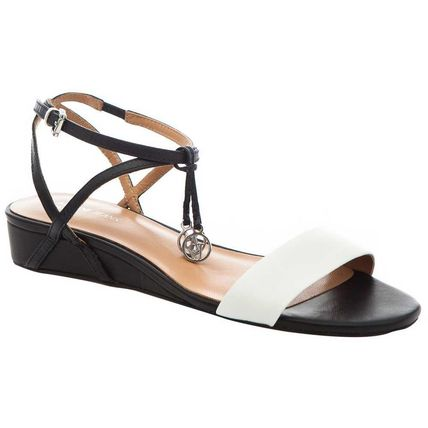 Plain Leather Logo Sandals Sandal