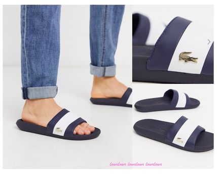 Street Style Shower Shoes Logo Sports Sandals