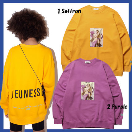 Unisex Collaboration Oversized Sweatshirts