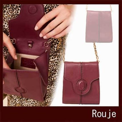 Crocodile Plain Leather Party Style Elegant Style Bold