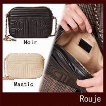 Rouje Leather Party Style Elegant Style Crossbody Formal Style