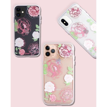 Flower Patterns iPhone XR Logo iPhone 11 Smart Phone Cases