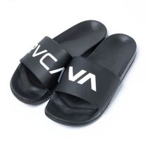 RVCA Street Style Shower Shoes Logo Shower Sandals